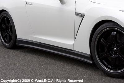 GT-R R35 サイドステップ